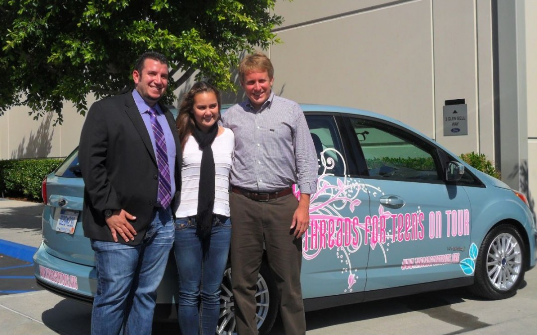 Threads for Teens on Tour Kick-Off in LA @ Hilton Universal City & FORD C-Max Hybrid Donation