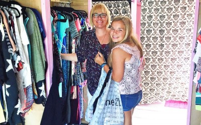 Threads for Teens Visits Middletown to Clothe Victims of the Valley Fire